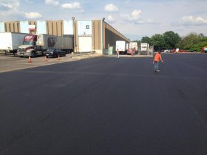 We did this asphalt paving in Allegheny County