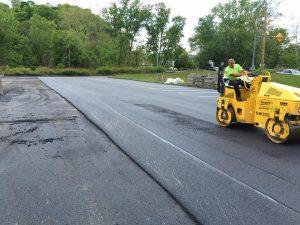 We finished some asphalt paving in Pittsburgh - Smullin Asphalt Company